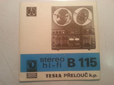 magnetofon B115 dokumentace