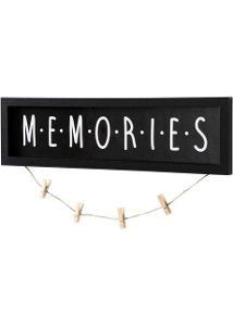 2L108 BONPRIX NÁSTĚNNÁ DEKORACE - MEMORIES POŠKOZENÉ *919443* HWE