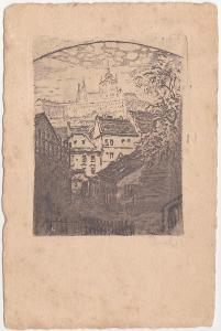 Praha (umělecká) - prošlá 1927