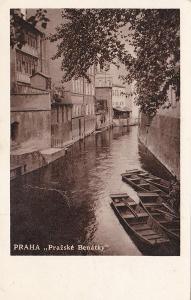 Praha (Pražské Benátky) 1934