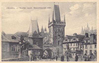 Praha - prošlá 1914