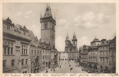 Praha - prošlá 1935