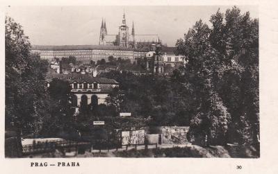 Praha - prošlá, polní pošta 1942