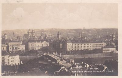 Praha - prošlá 1924