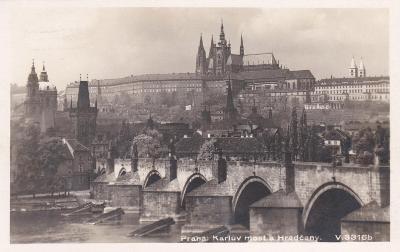Praha - prošlá 1931