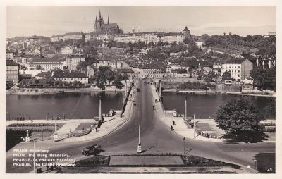 Praha - prošlá 1940