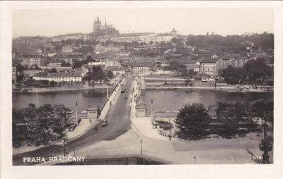 Praha - prošlá 1934
