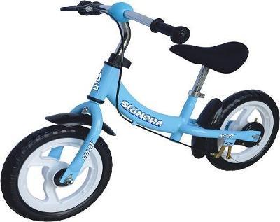 """Sulov SIGNORA 12"""" modré dětské odrážedlo"""