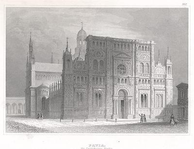 Pavia, Meyer, oceloryt, 1850