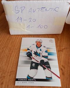 Kompletní set karet NHL- SP Authentic 19/20 (100karet)