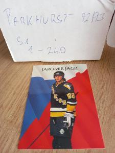 Kompletní set karet NHL - Parkhurst 92/93 s1 (240 karet)