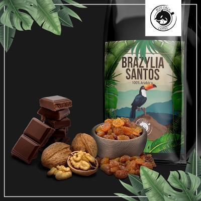 SUPER CENA Káva BRAZÍLIE 2 x 1 kg čerstvě pražená 100% ARABIKA