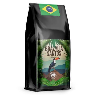 SUPER CENA Káva BRAZÍLIE 1 kg čerstvě pražená 100% ARABIKA