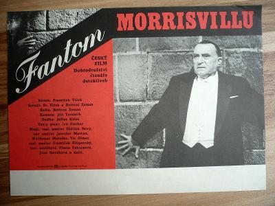 Fantom Morrisvillu (filmový plakát, film ČSSR 1966, rež