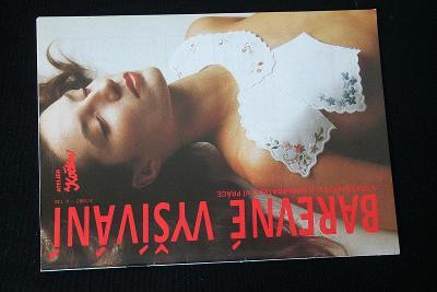 Barevné vyšívání ,Ateliér 3/1992    (l13)