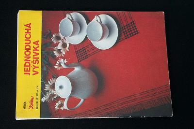 Jednoduchá výšivka kolekce VI./1983     (l13)