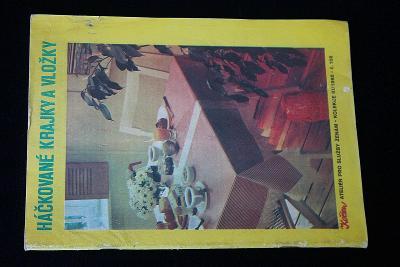 Háčkované krajky a vložky  III./1985     (l13)