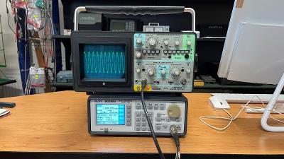 Schlumberger 5072 paměťový osciloskop 2x12MHz