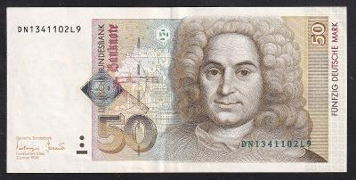VZÁCNĚJŠÍ 50 MARKA 1996 - NÁDHERNÁ