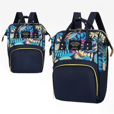 Designový batoh s květinovým vzorem 3232