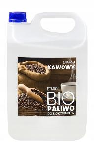 BOMAR Biolíh 100% palivo do biokrbů 5 l s vuni kavy