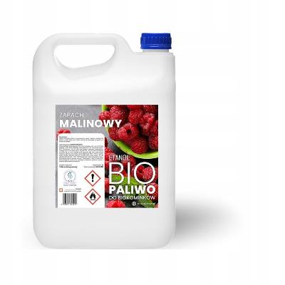 BOMAR Biolíh 100% palivo do biokrbů 5 l s vuni maliny