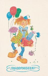 Klaun oslava narozenin
