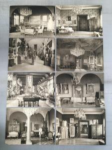 Staré pohlednice Konopiště