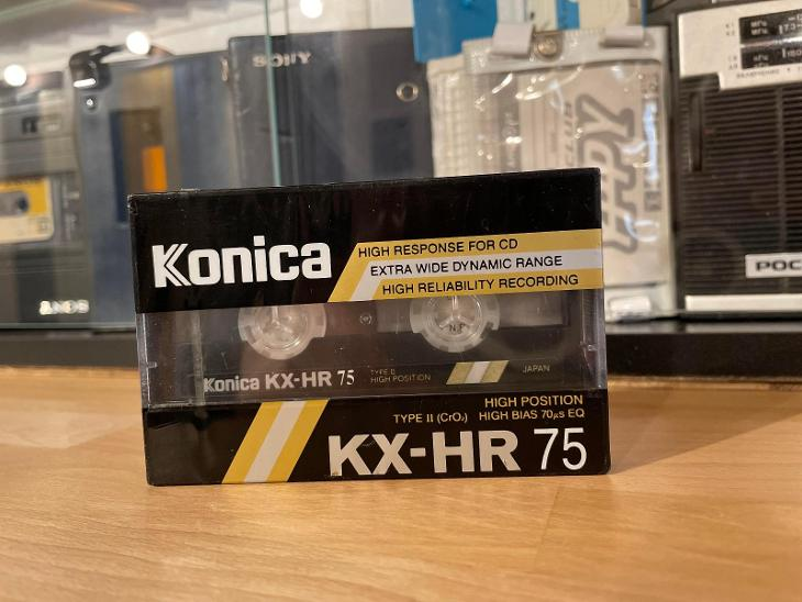 Kazeta KONICA KX-HR 75 - TV, audio, video