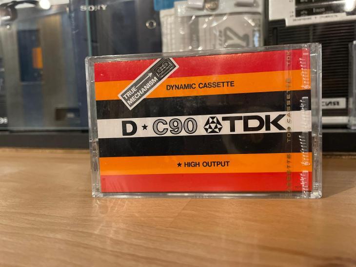 Kazeta TDK D-C90 - TV, audio, video