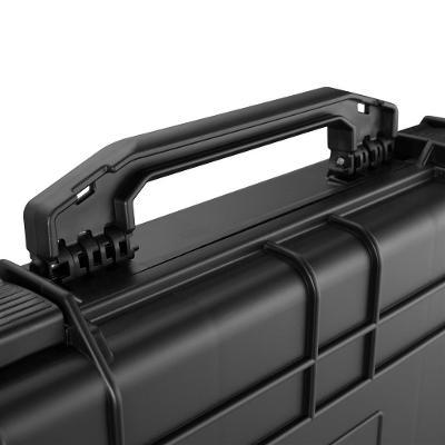 tectake 402872 univerzální pouzdro na dlouhou zbraň - černá