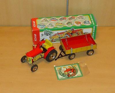 Traktor Zetor s valníkem 55 - KDN-KOVAP