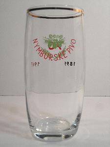 Pivní sklenice pivovar Nymburk 01 0,3L