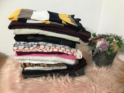 Velikostní balík M, 38, 40, mix 4,9 kg dámského oblečení