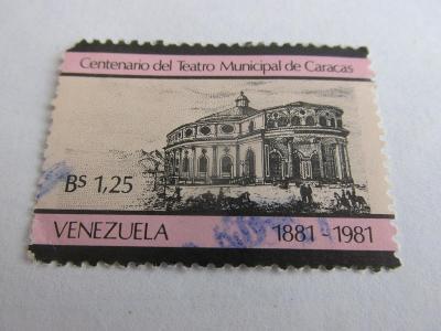 Prodávám známky  Venezuela 1981, 100 let Národního divadla Karakas