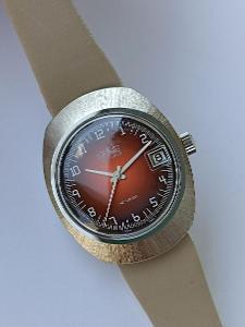 Staré pánské švýcarské hodinky TOURIST - nikdy nošené - NOS stav !