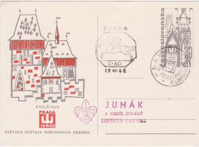Praga 1968-PR-Skaut-Junák--od korunky!