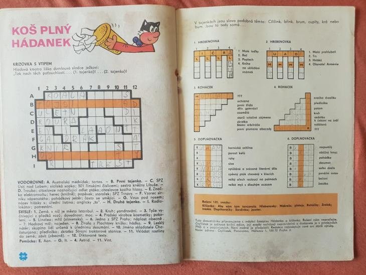 132. Čtyřlístek, Bezpečná cesta 1985, aukce od 1Kč - Komiksy