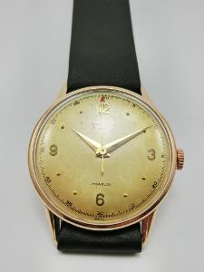 Pánské zlaté náramkové hodinky Savillon