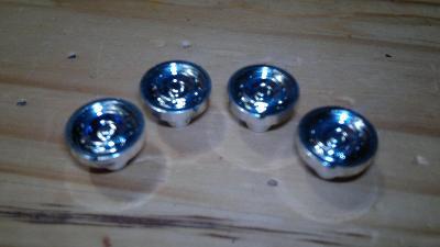 Monti System, nový náhradní díl stříbrný disk kola, náboj , NE 3D tisk