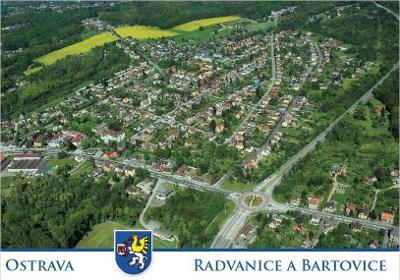 Ostrava Radvanice a Bartovice