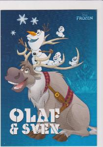 DISNEY  OLAF A SVEN   ČISTÁ NOVÁ   KRESBA