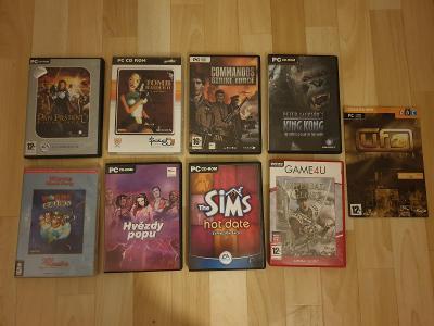 Kupa PC her - Pan prstenu,Tomb Raider II,Commandos,King Kong,Worms...