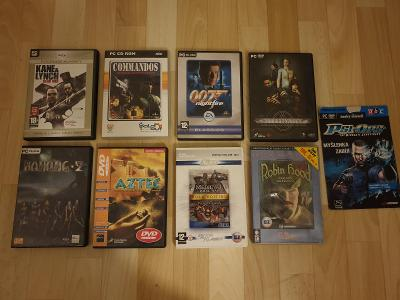 Kupa PC her - Kane Lynch, Commandos, 007, Alternative, PSI-OPS...