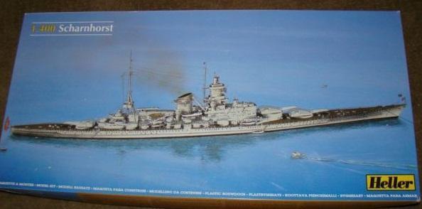 Scharnhorst 1/400 Heller