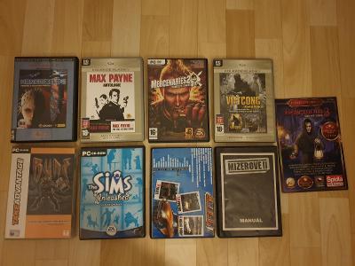 Kupa PC her - Homeworld 2, Max Payne, Mecenaries, Vietcong, Rune ...