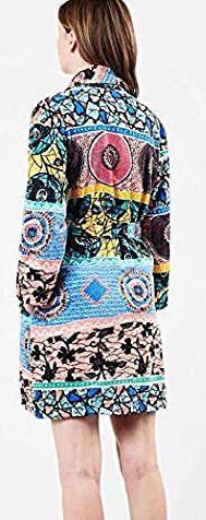 DESIGUALbathrobe_wild BAVLNĚNÝ DÁMSKÝ LUXUSNÍ ŽUPAN/M(uni vel s-m-l) - Dámské spodní prádlo