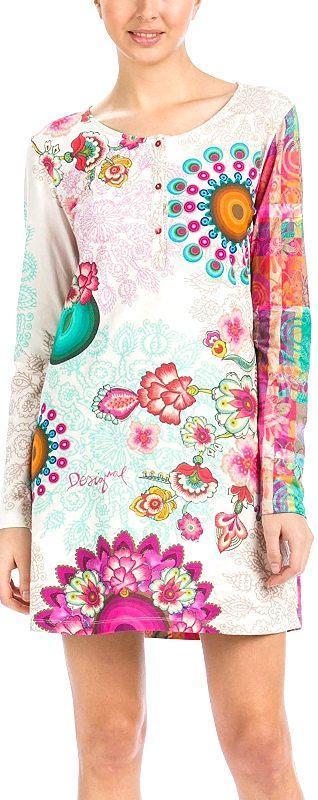 DESIGUALNIGHTDRESS_BLOSSOM/luxusní krásné pyžámko/ bavlna/S-M 1,-