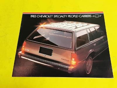 --- Chevrolet Wagons 1983 ---------------------------------------- USA