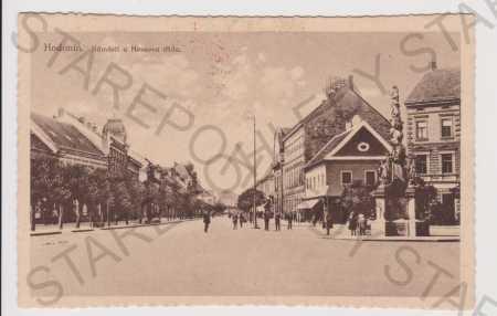 Hodonín - náměstí a Hessova třída